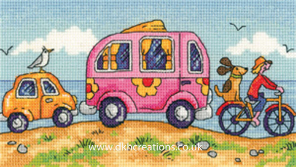 Are We There Yet ? Cross Stitch Kit